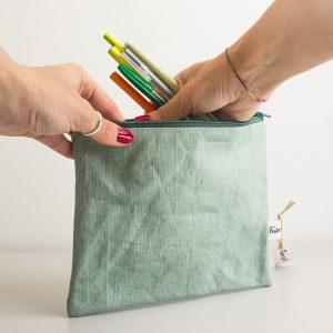 pochette impermeabile fabricup - dettaglio beauty case