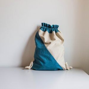 sacca in cotone impermeabile
