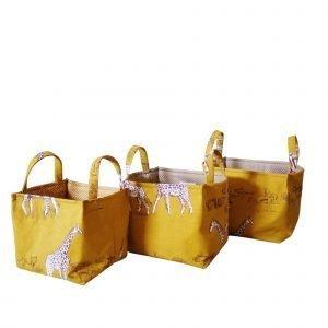 set cestini portaoggetti